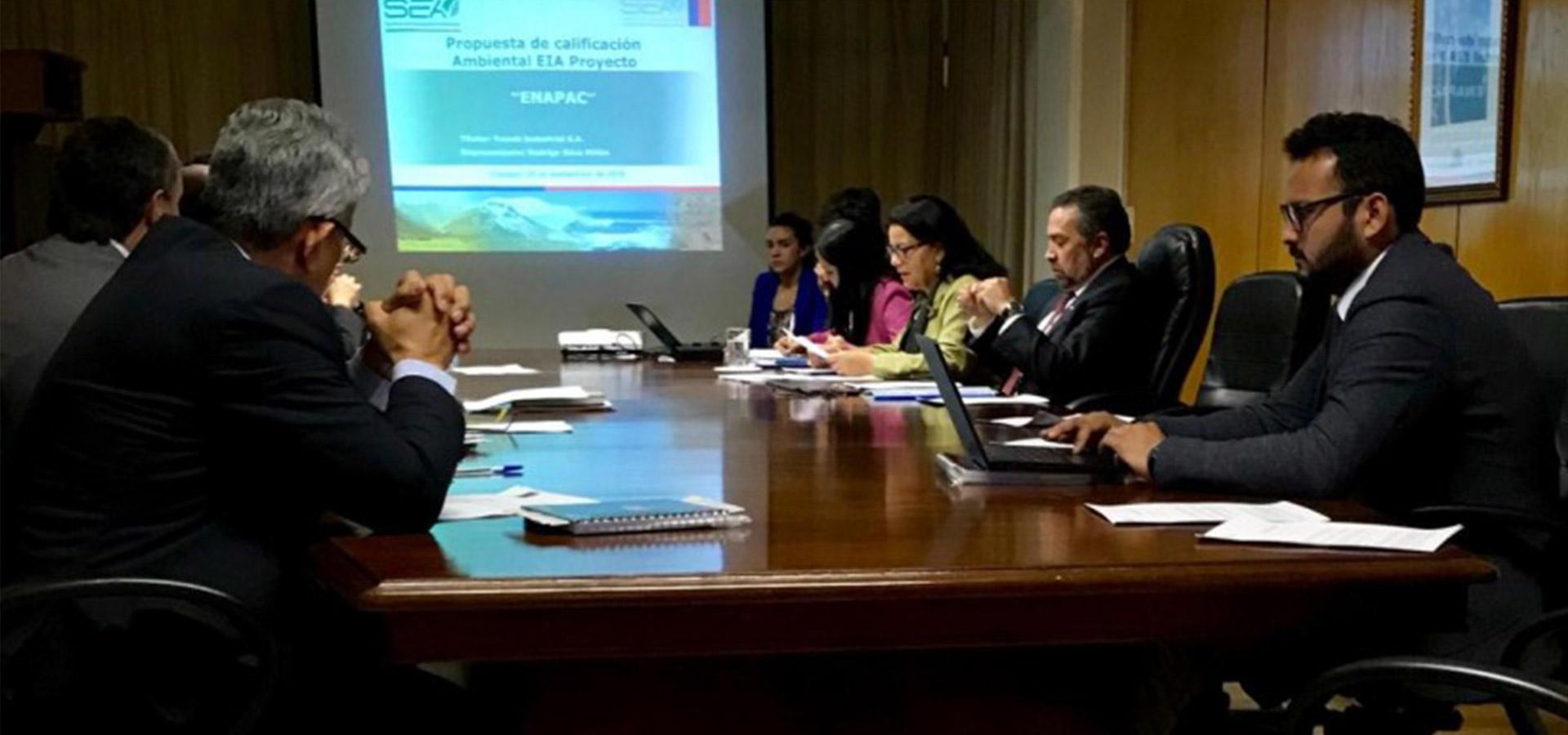 ENAPAC fue aprobado por la Autoridad Ambiental de Chile